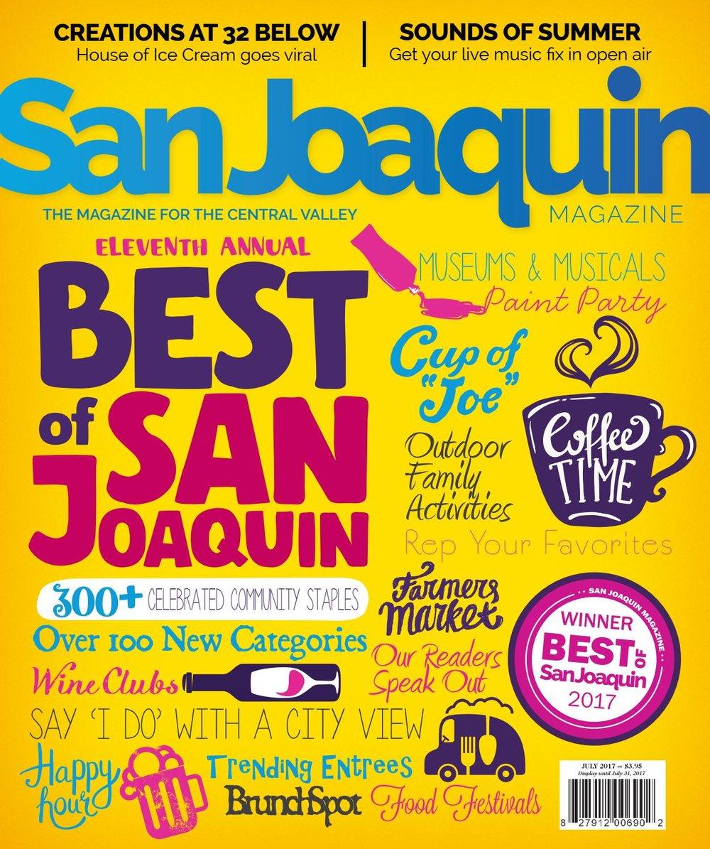 San Joaquin Magazine, July 2017, pg 134