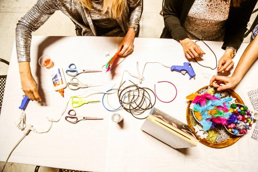Social Gathering Art Craft Event