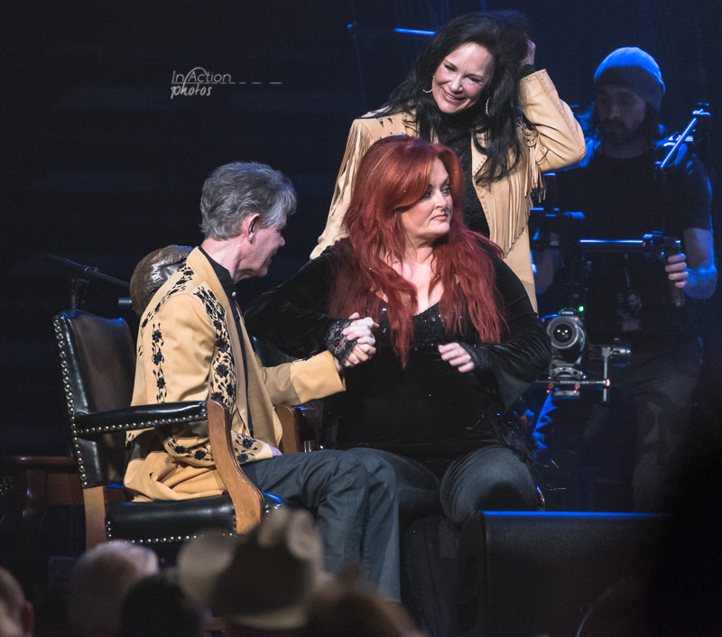 Wynonna, Randy Travis & Mary Travis