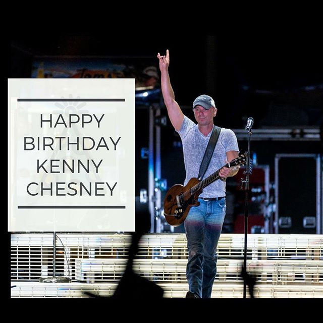 🎉Happy Birthday to @kennychesney who turns the big 5-0 today!  Join us in sending him some birthday love below! 💕