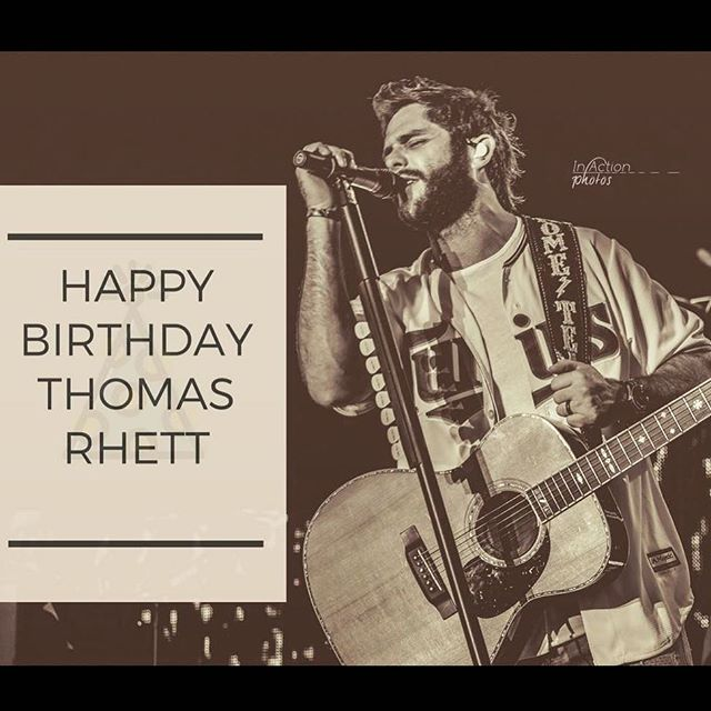 Join us in wishing @thomasrhettakins a Happy 28th Birthday 🎂 📸: @in.action.photos