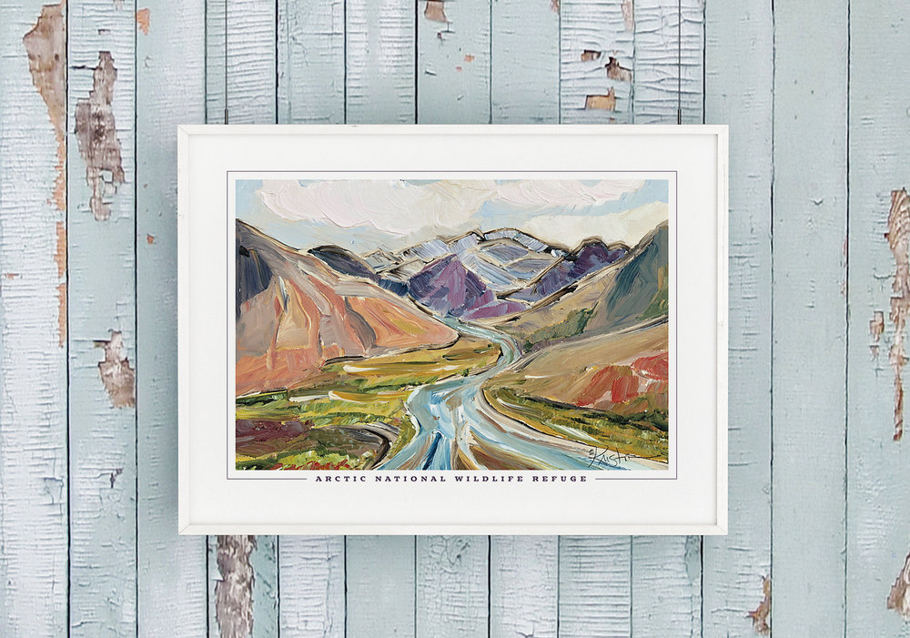 Arctic National Wildlife Refuge Poster