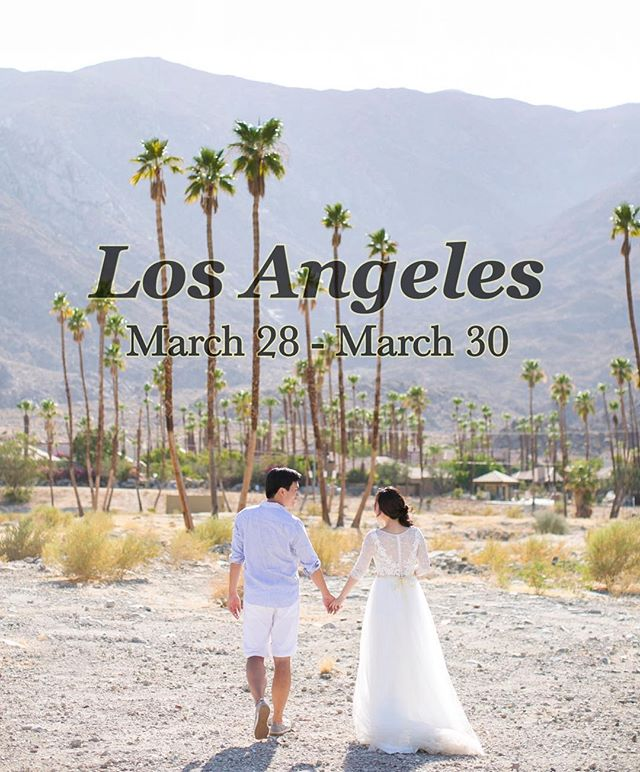 Visiting LA at the end of March! 🌴☀️ Let me know if you'd like to book a quick consultation appt and I'm happy to take a few samples with me on the trip. 🤗 DM me and looking forward to meeting you! #customweddingdress #LAbride #gettingmarried2019 #summer2019wedding #losangeleswedding #weddingdressdesigner #weddingdressideas