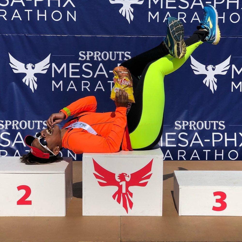 030218 Race Report Phoenix Marathon (Post Photo).JPG