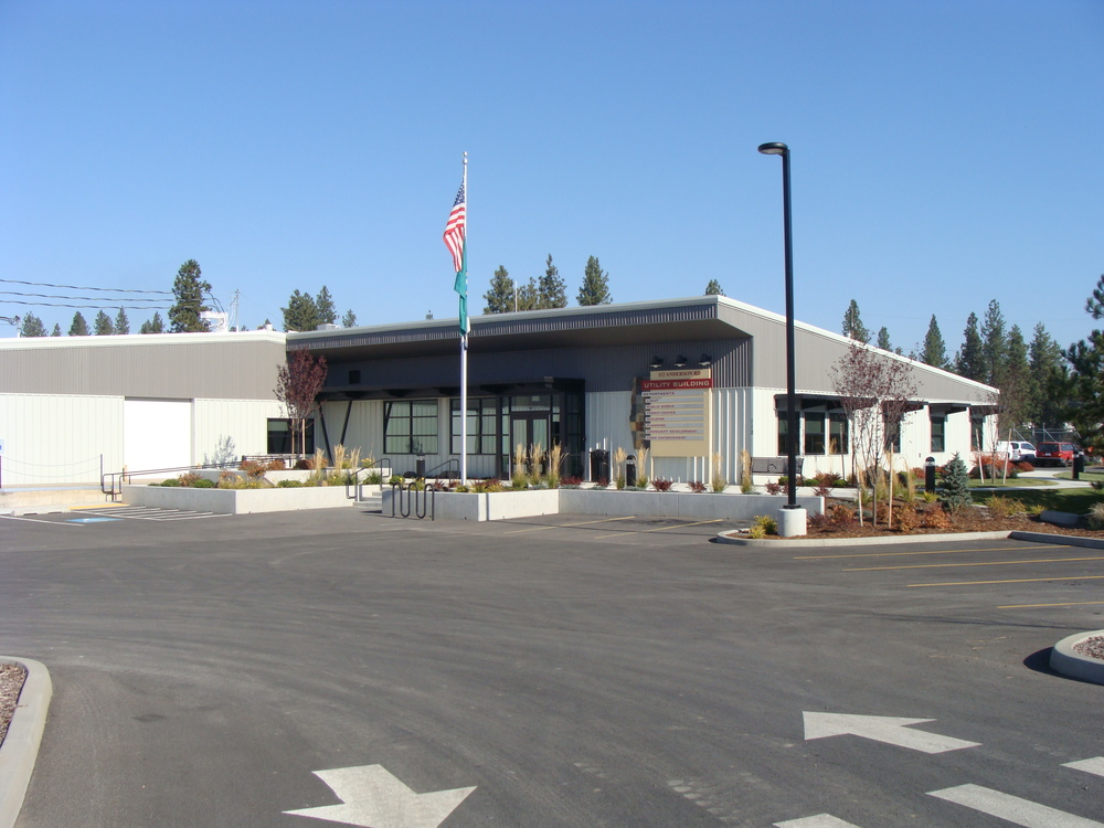 Cheney Utility Building