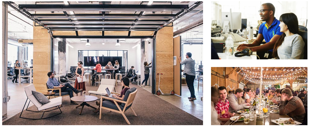 A snapshot of the employee experience at Airbnb