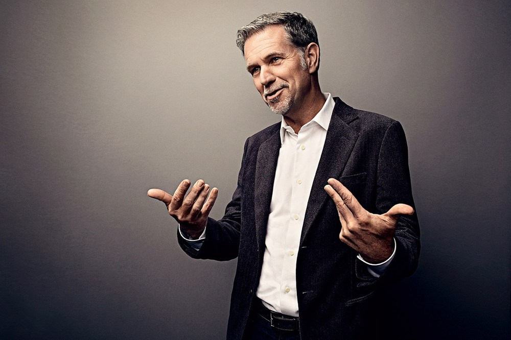 Photo of Reed Hastings via Wired Magazine