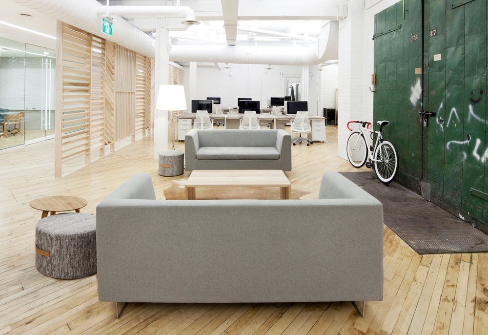 Inside Shopify's Toronto Office (via Officelovin)