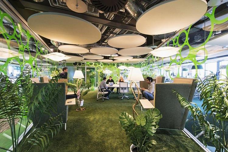 Inside Google's Dublin Office