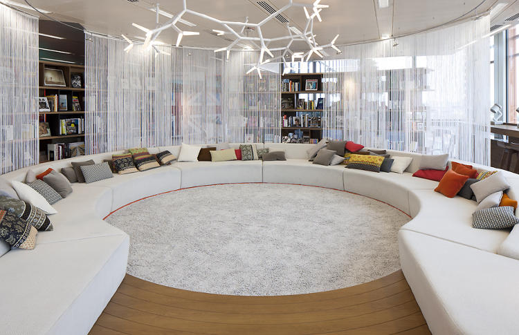 A conference room at Google's London office