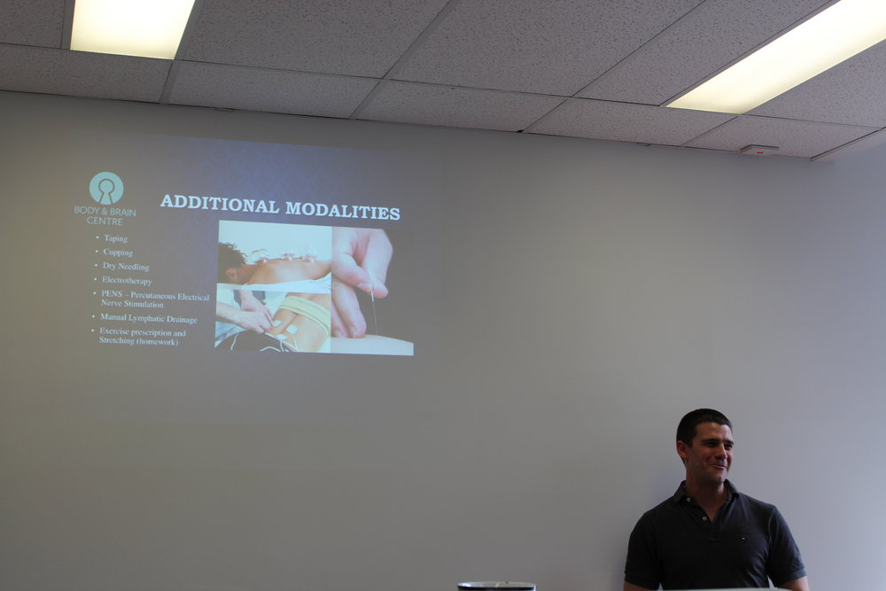 Glenn (Remedial Massage) Halls' talk on muscle knots and how to relieve them