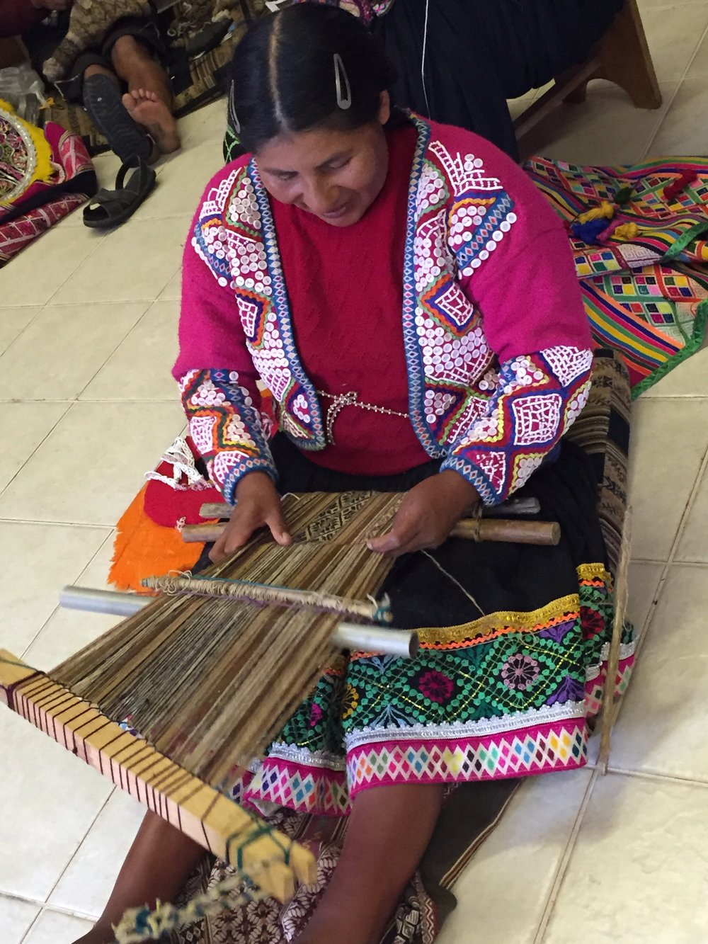 Visiting weavers in Cusco.jpg