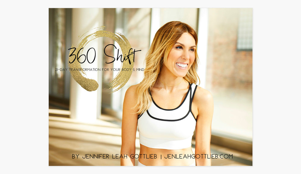 The 360 Shift 21 Day Transformation For Your Body & Mind Guidebook