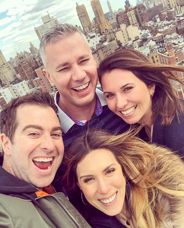 After VIP days with our clients at our place, we always go up to the roof and take a selfie! ⁣ ⁣ Yesterday the sky was so bright I literally couldn't open my eyes! ⁣ ⁣ It was bright ALMOST as the people in this photo 😊⁣ ⁣ @Jaimeleefraser, @zonehalo and @chriswinfield -Thank you for being such a bright light in my life ☀
