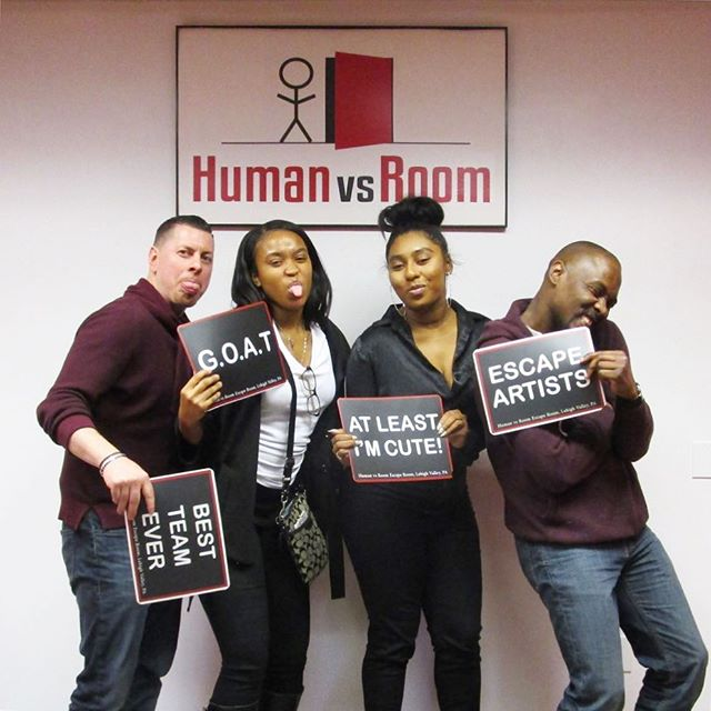🗝🔍🔓🕰 . Escape your world. Get lost in ours! . #teamhvr #humanvsroom #escaperoom #lehighvalleyescaperoom #lehighvalley #bethlehemescaperoom #bethlehem #bethlehempa #Pennsylvania #familyfun #birthdayideas #datenight #dateideas #birthday #riddles