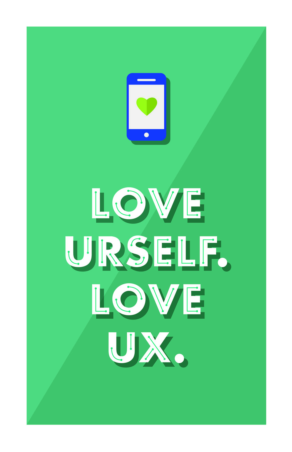 Promotional Poster for a Talk UX Event