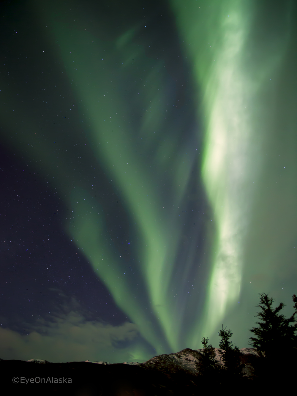 The Aurora Spirit.  Can you see the face?