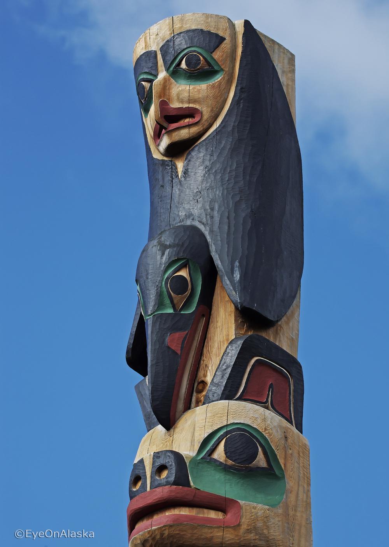 Totem #3, Klawock, POW Island.