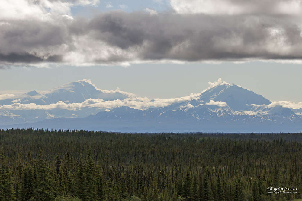 Mount Sanford and Mount Drum