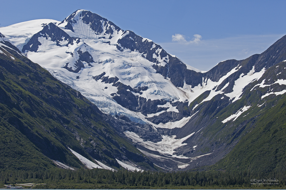 Portage Valley and Byron Glacier