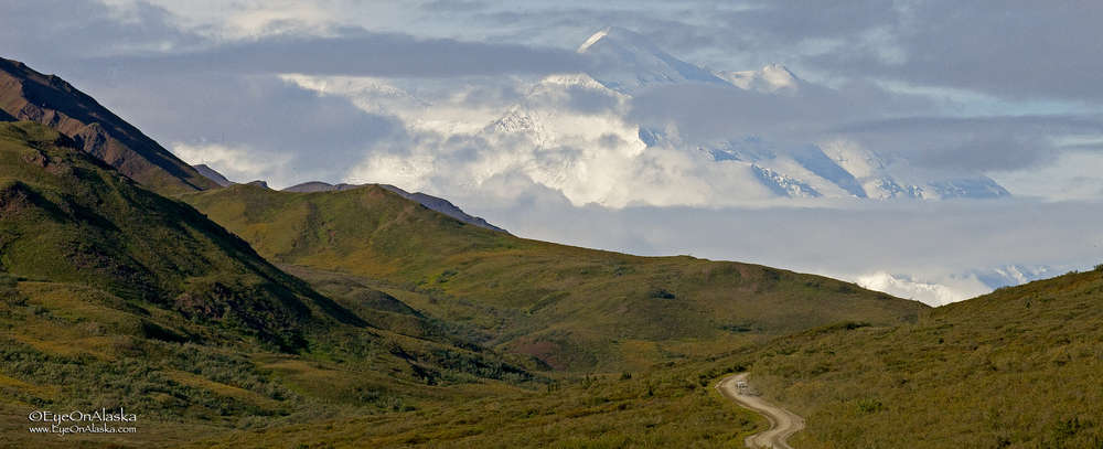 Denali begins to really show off.