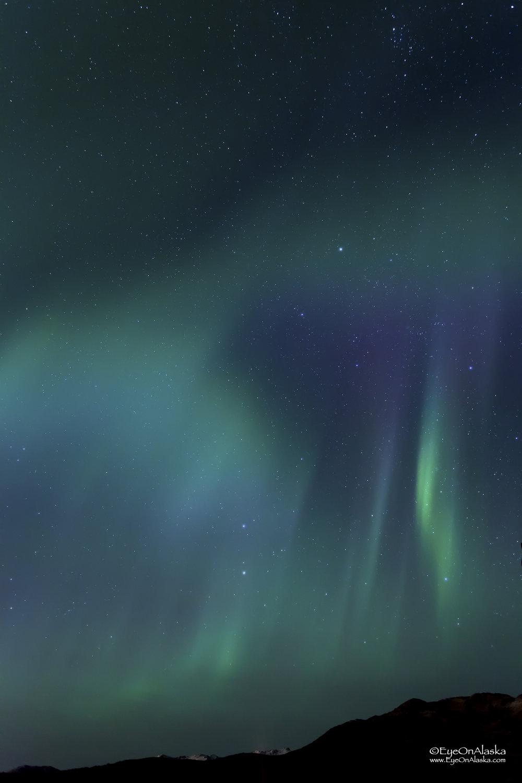Corona activity overhead.