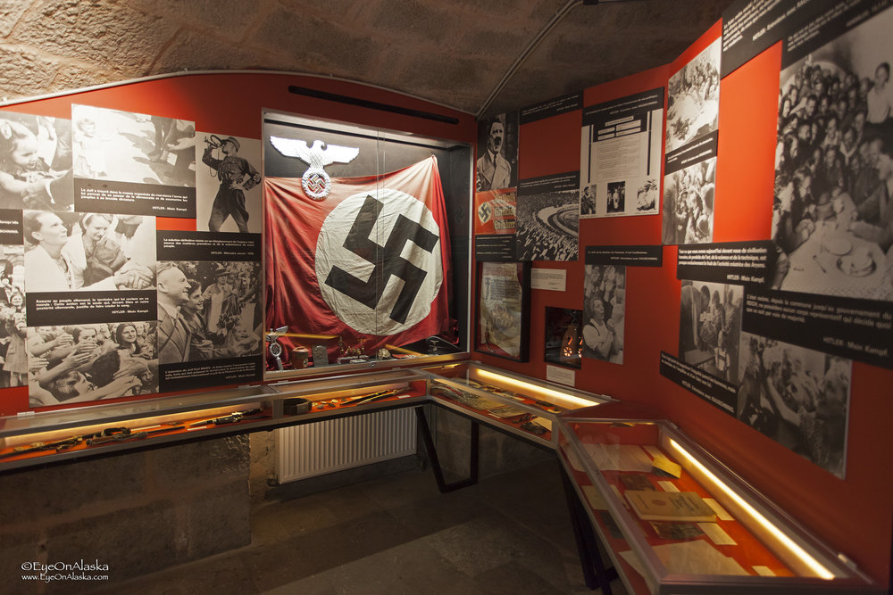 An extensive museum in the Citadel dedicated to the French Resistance during WWII.  Incredibly disturbing.  There are way too many parallels to what's happening today.