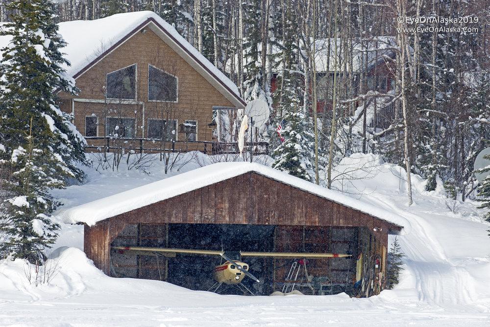 Boat House, Alaska style.