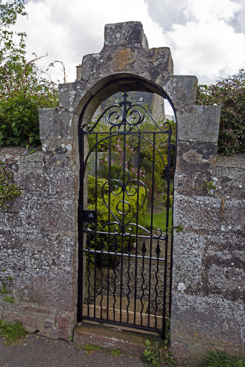 Lovely old gate along the river Ness.