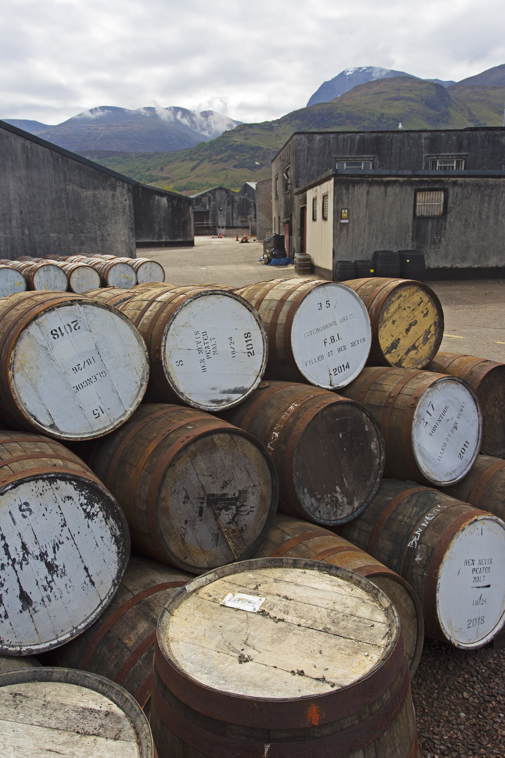 Most surprising fact of the tour was just how much they pay for casks from all over the world.