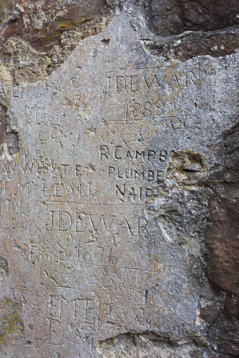 Graffiti from the 1800's