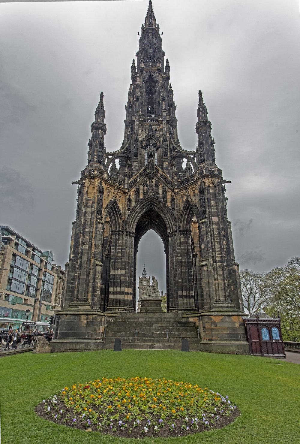 Sir Walter Scott Memorial.