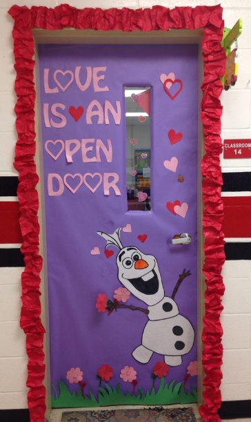 Valentines Classroom Door Decor ~ Valentine s day door decorations — confessions of a chalkboard
