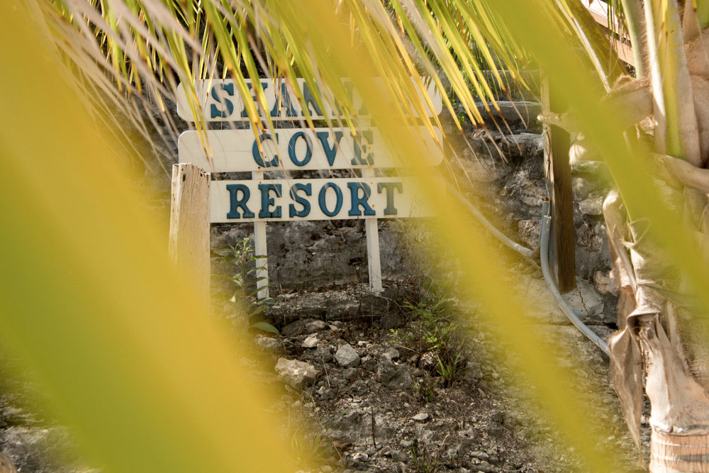 Shanna's Cove, beach resort.