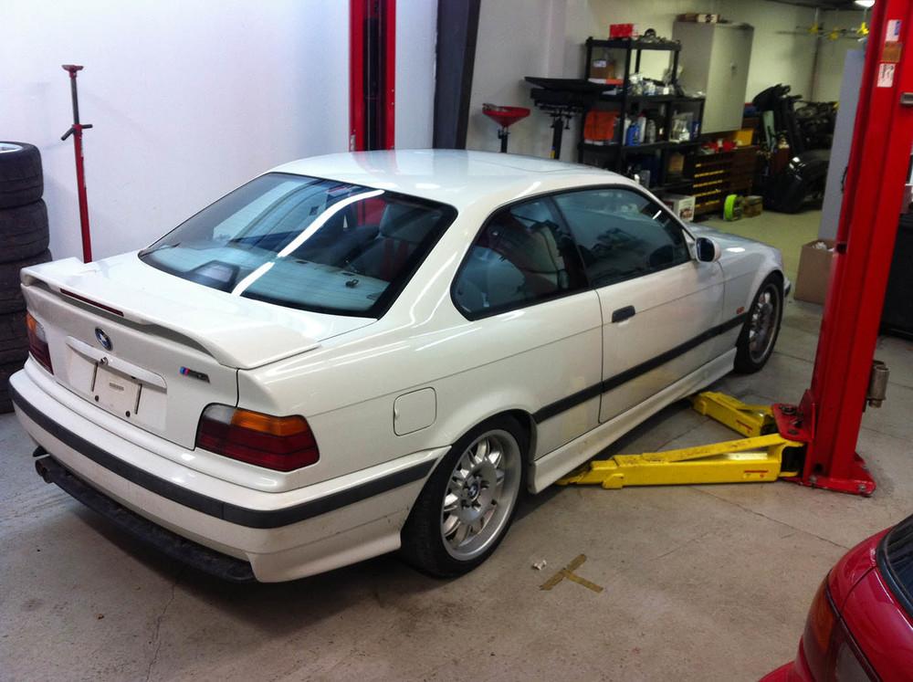 Bmw E36 M3 Race Car Isi Automotive