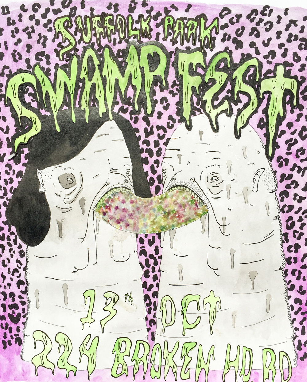 Swampfest poster 2012