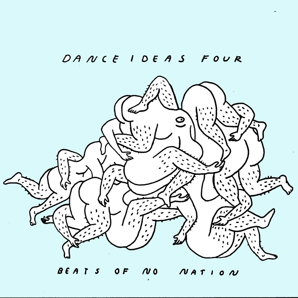 Dance Ideas 4 record cover 2018