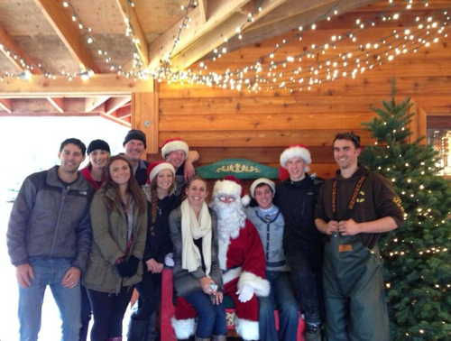 Santa will visit our farm on: Check back for Santa's hours!