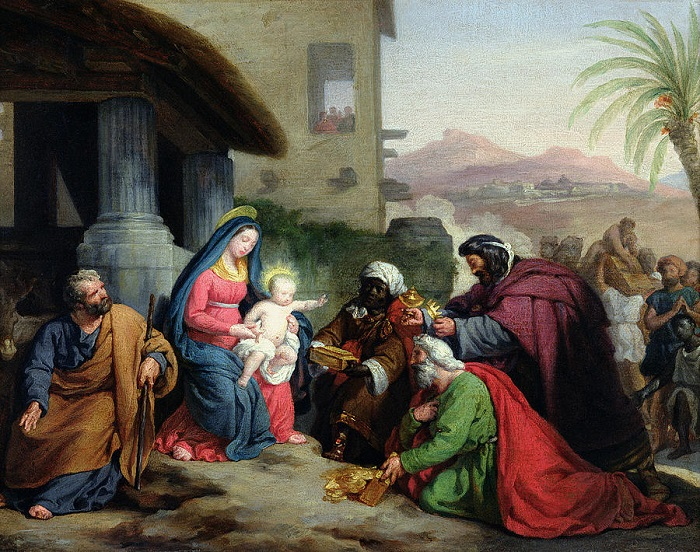Jean Pierre Granger,  The Adoration of the Magi