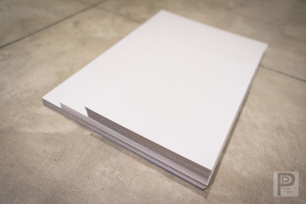 """Hard Backboards of varying sizes to keep your print flat and stiff against bends and dents from 5x7"""" through 13x19"""" sizes."""