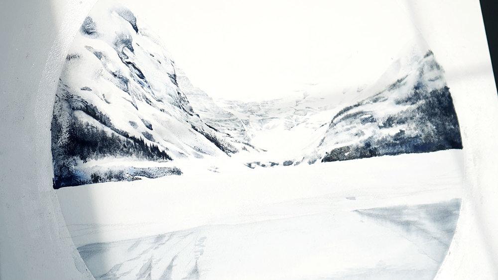 Lake Louise painting process 4437s.jpg