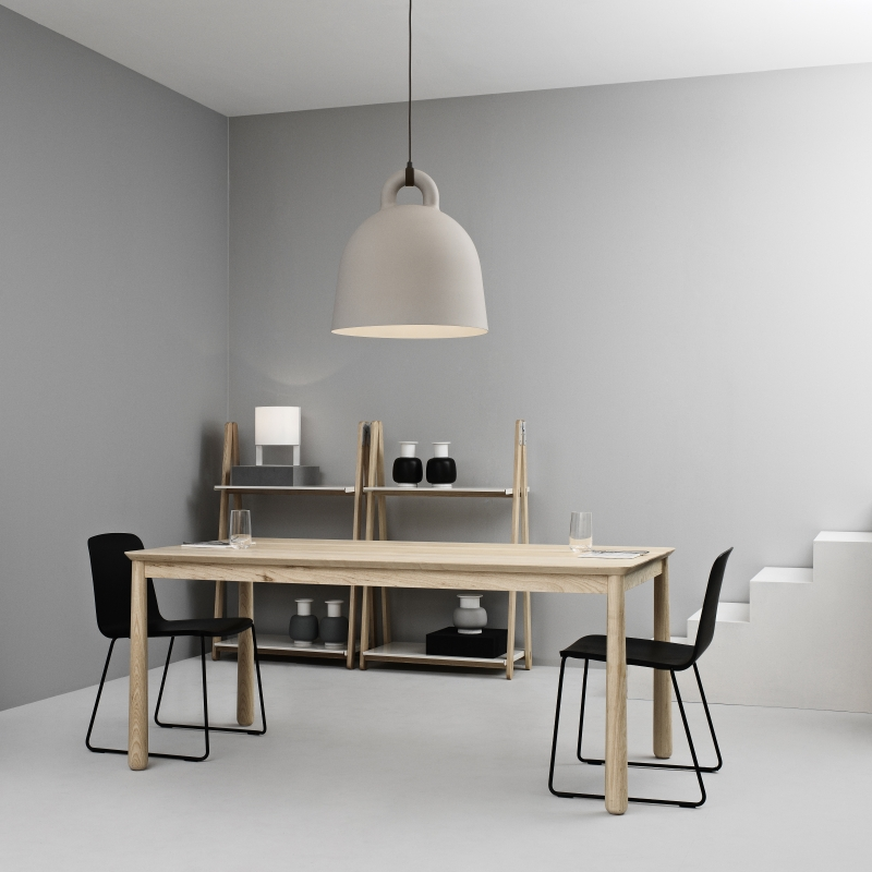 'Bell' pendant by Normann Copenhagen available at  Huset  is a firm favourite of mine and looks amazing in any space.