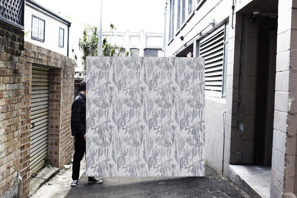 Shady tree, wallpaper.