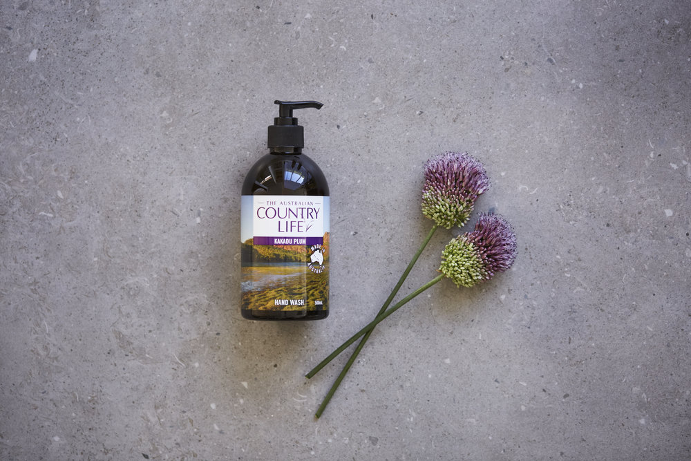 Fill your designer soap dispenser with a luxe bottle of Country Life liquid soap. The dark bottle looks gorgeous in any bathroom. Shop the range at Woolworths stores nationally.