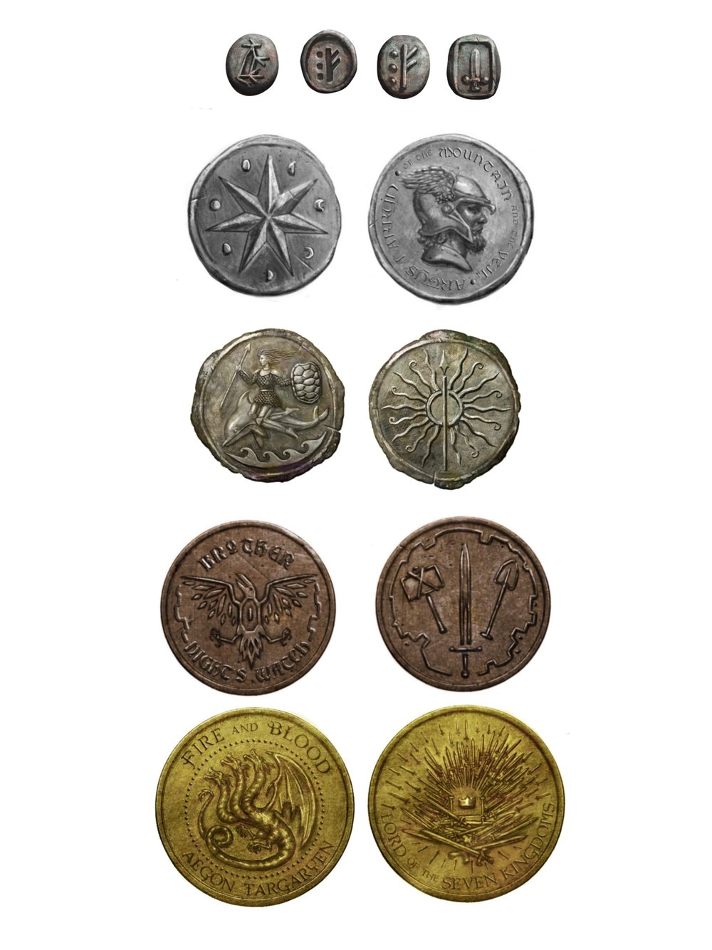 Pre-Conquest Coins of Westeros
