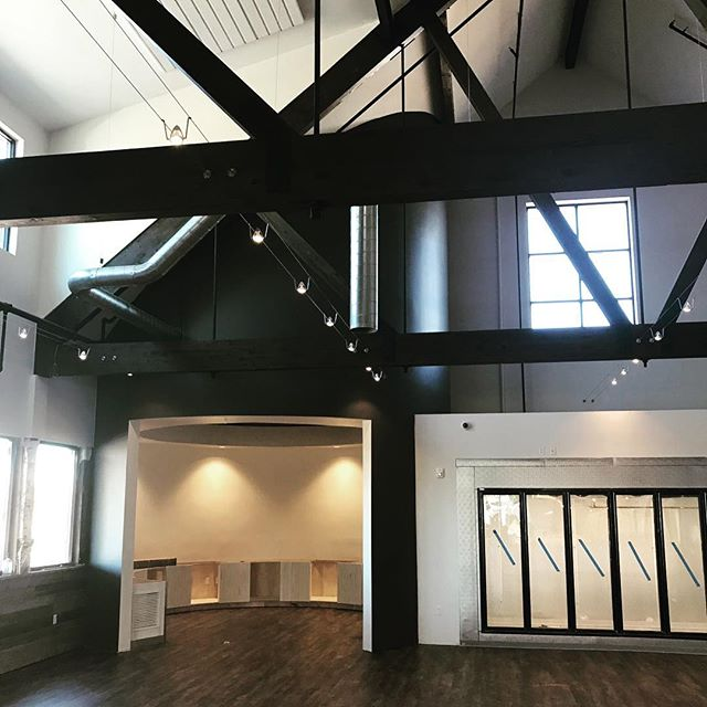 Interior Finishes looking nice at the Creamery project down in Beaver Utah. . . . . . . @dfamilk @thecreameryutah  #thecreamery #utahconstruction #beaverutah #sitevisit #squeakycheese #construction #constructionprogress #randoconstruction #utaharchitecture
