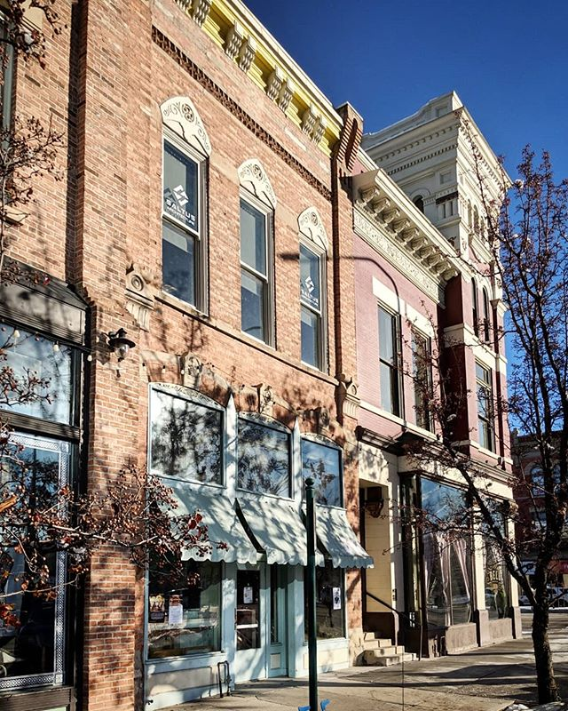 New signage is up on our windows along Center St and on our entry door.  Come by and see our office in downtown Provo! . . . . #downtownprovo #provoarchitects #utaharchitects #architect