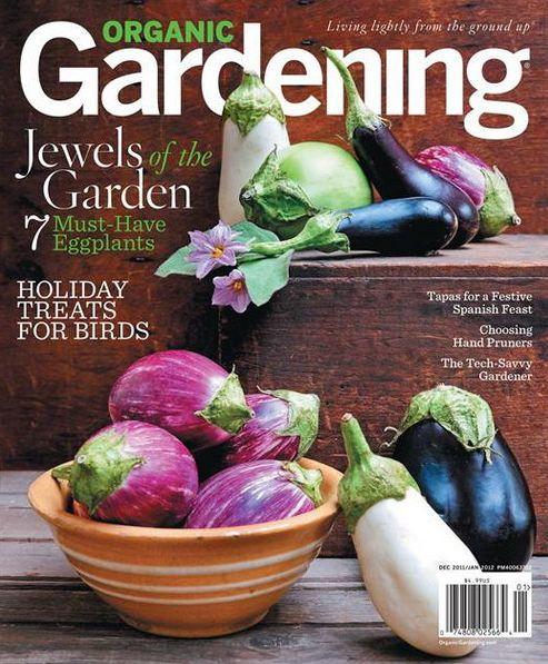 REALM in Organic Gardening Magazine