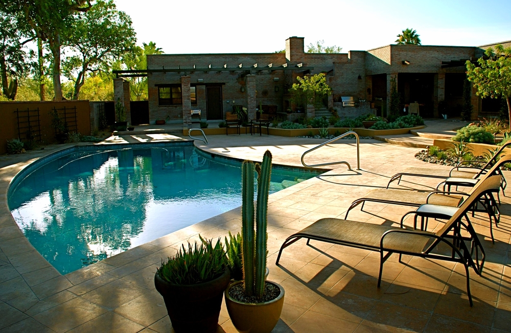 Outdoor living in the Arizona Inn neighborhood.