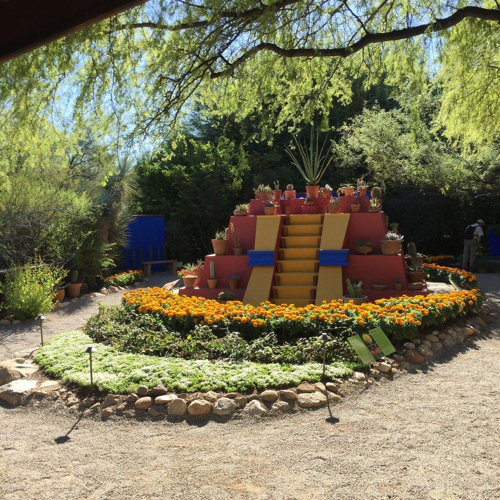 REALM's Tucson Botanical Gardens Frida Kahlo Exhibit